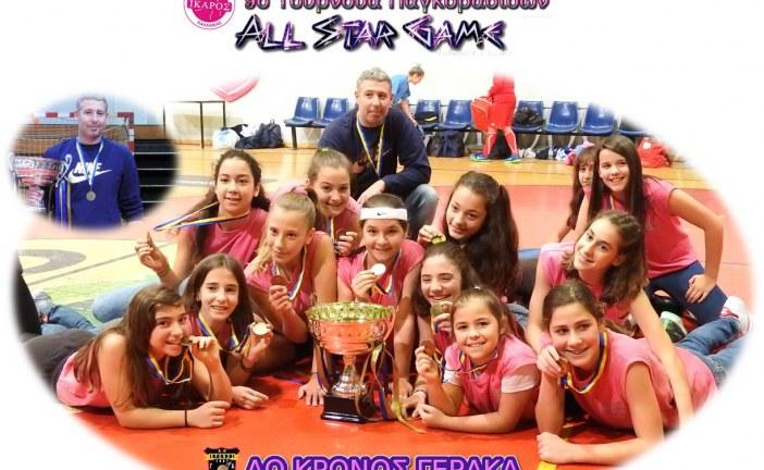 9ο Τουρνουά Παγκορασίδων Ίκαρου Καλλιθέας – All Star Game