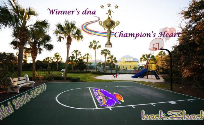 Μίνι 2016-2017:  Με DNA νικητή και καρδιά Πρωταθλητή!
